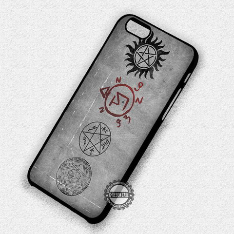 Symbol on Wall - iPhone 7 6 Plus 5c 5s SE Cases & Covers