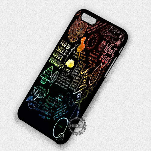 Art Collage The Fault in Our Stars - iPhone 7 6 5 SE Cases & Covers