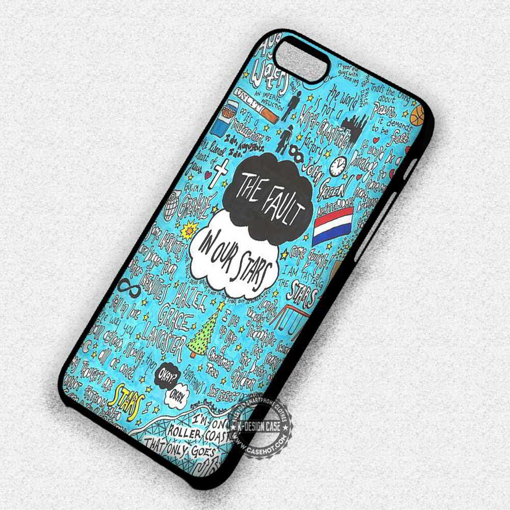 online retailer 5025a b9826 Movie Collage The Fault in Our Stars - iPhone 7 6 5 SE Cases & Covers