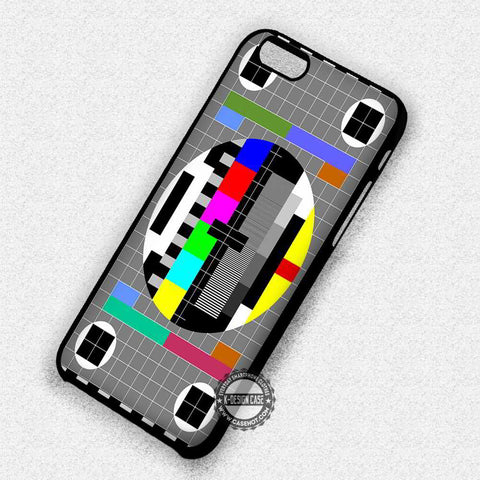 Test Pattern Television - iPhone 7 6 Plus 5c 5s SE Cases & Covers