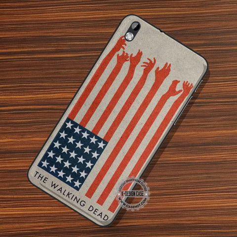 America Flag Zombie - LG Nexus Sony HTC Phone Cases and Covers