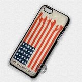 The Walking Dead America Flag - iPhone X 8+ 7 6s SE Cases & Covers