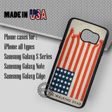 The Walking Dead America Flags - Samsung Galaxy S7 S6 S5 Note 5 Cases & Covers