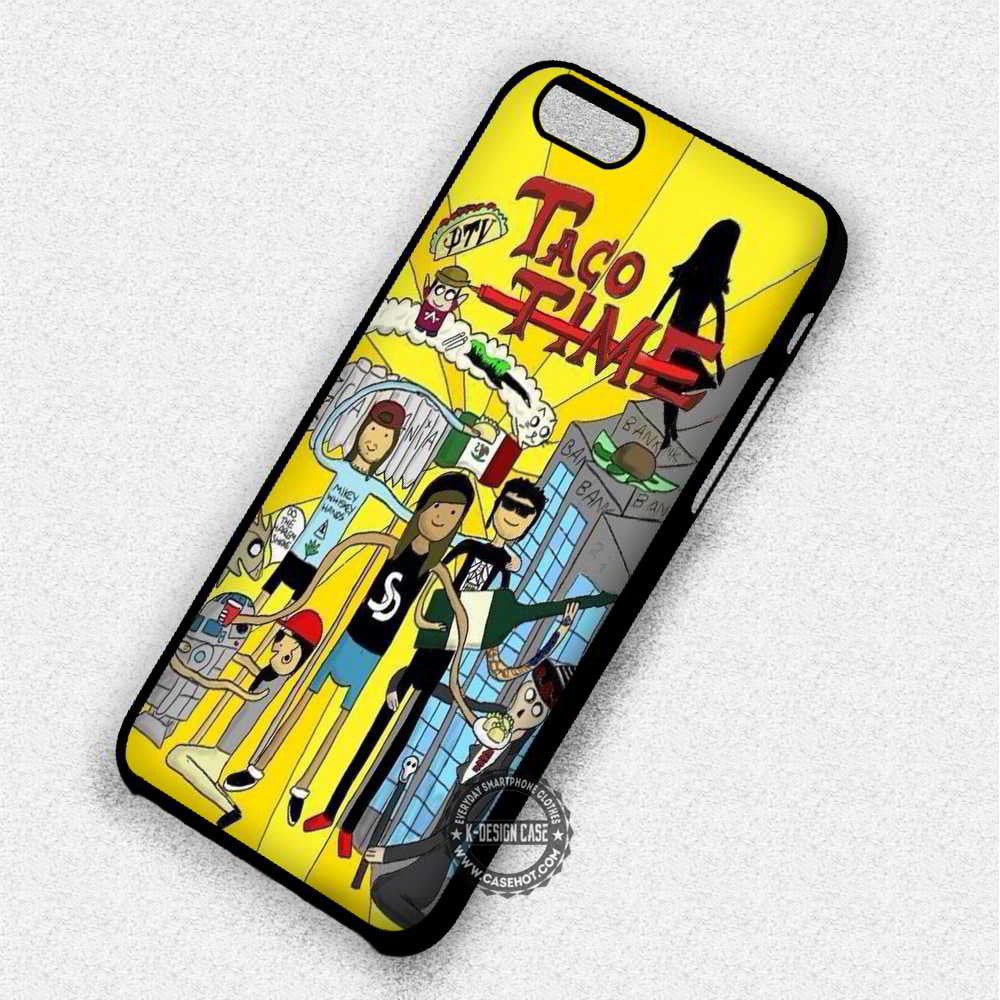 Taco Time Mexican - iPhone 7 6S 5 5S SE Cases & Covers