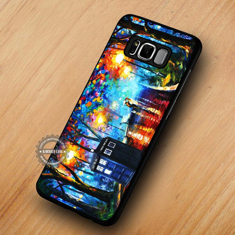 Tardis Painting Dr Who - Samsung Galaxy S8 Case