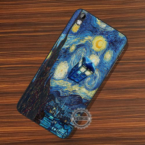 Tardis Starry Night Painting - LG Nexus Sony HTC Phone Cases and Covers