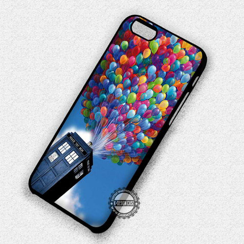 Tardis Flies To The Sky - iPhone 7 6 Plus 5c 5s SE Cases & Covers
