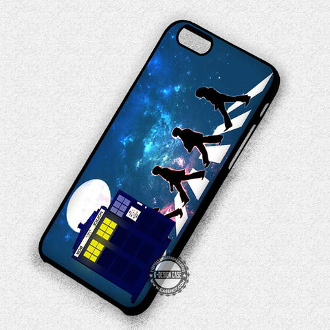 The Beatles and Tardis - iPhone 7 6 Plus 5c 5s SE Cases & Covers