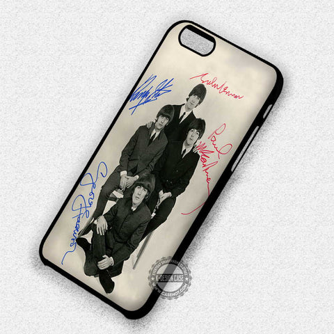 The Beatles Photo with Signature, - iPhone 7 6 5S SE4 Cases & Covers