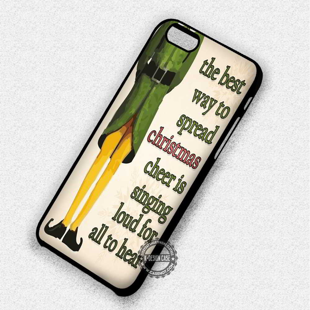 The Best Way To Spread Christmas - iPhone 7 6 Plus 5c 5s SE Cases ...