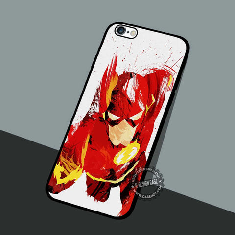 The Flash Superhero - iPhone 7 6 5 SE Cases & Covers