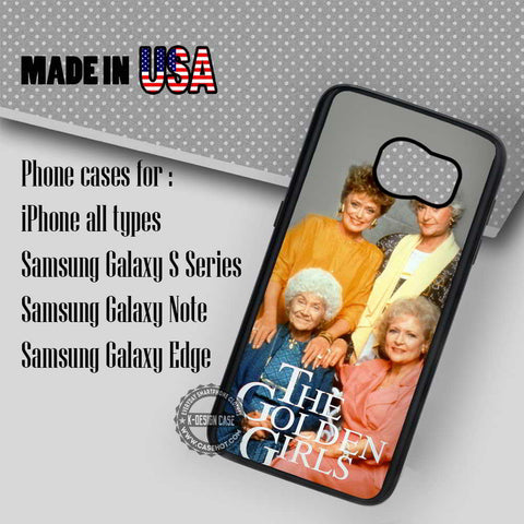 The Golden Girls Vintage - Samsung Galaxy S7 S6 S5 Note 5 Cases & Covers