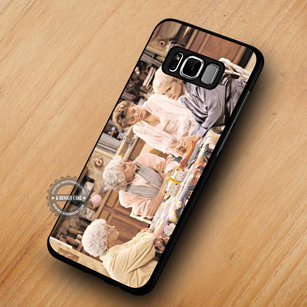huge discount 25874 7a02d The Golden Girls Cheesecake Retro - Samsung Galaxy S8 S7 S6 Note 8 Cases &  Covers #SamsungS8