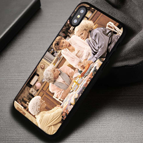 The Golden Girls Cheesecake Retro - iPhone X Case