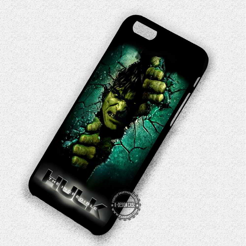 new style 9bd2b 03f9b The Incredible Hulk - iPhone 7 6S 5 SE 4 Cases & Covers