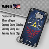 Zelda Hylian Shield Game - Samsung Galaxy S7 S6 S5 Note 5 Cases & Covers