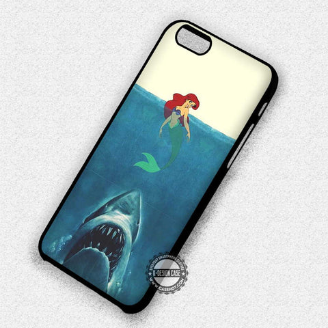 Ariel vs Jaws - iPhone 7 6 Plus 5c 5s SE Cases & Covers