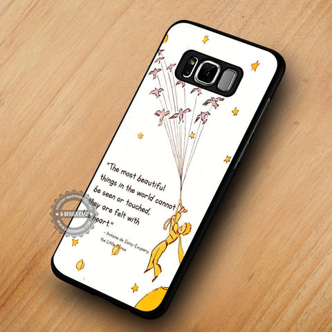 The Little Prince Quote - Samsung Galaxy S8 Case