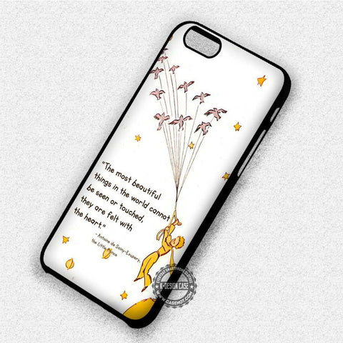The Little Prince Quote - iPhone 7 6 Plus 5c 5s SE Cases & Covers