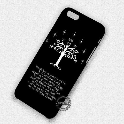 The White Tree Of Gondor - iPhone 7 6 Plus 5c 5s SE Cases & Covers