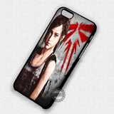 The Last of Us Logo - iPhone 7 6 5 SE Cases & Covers