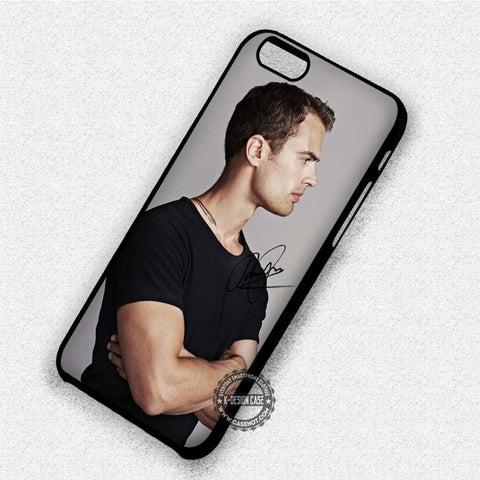 Theo James Black Shirt - iPhone 7 6 Plus 5c 5s SE Cases & Covers