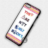 They Are Not Only Books - iPhone X 8+ 7 6s SE Cases & Covers