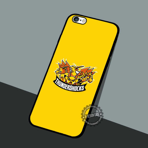 Thundershocks Pokemon - iPhone 7 6 5 SE Cases & Covers