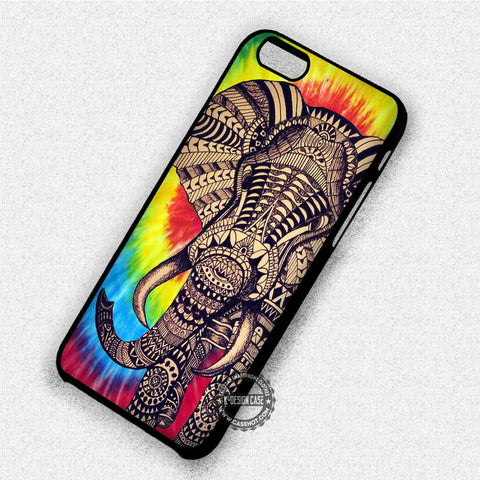 Tie Dye Elephant - iPhone 7 6 Plus 5c 5s SE Cases & Covers