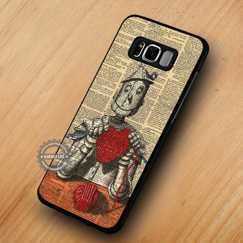 Tin Man Wizard of Oz Dictionary - Samsung Galaxy S8 Case