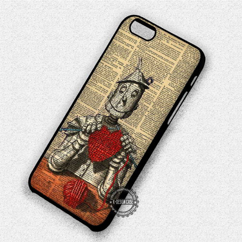 Tin man Wizard of Oz - iPhone 7 6 Plus 5c 5s SE Cases & Covers