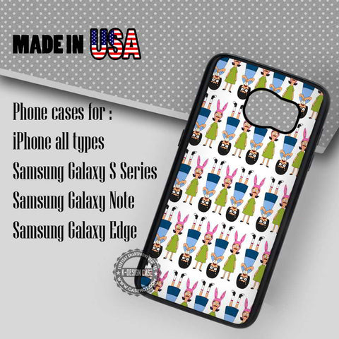Tina and Louise Belcher - Samsung Galaxy S7 S6 S5 Note 5 Cases & Covers