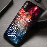 Tolkien Quote Nebula Disney John Green - iPhone X Case