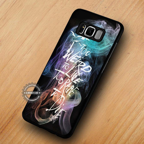 Galaxy Smoke Panic At The Disco - Samsung Galaxy S8 Case