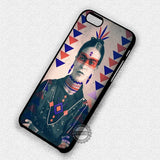 Tribal Frida Kahlo Art - iPhone 7 6 Plus 5c 5s SE Cases & Covers