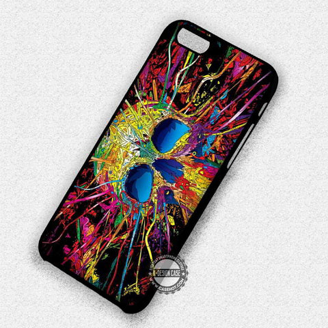 Trippy Skull Colorful - iPhone 7 6 Plus 5c 5s SE Cases & Covers
