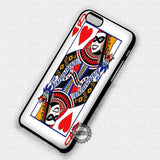 Trump Card Harley Quinn - iPhone 7 6 Plus 5c 5s SE Cases & Covers