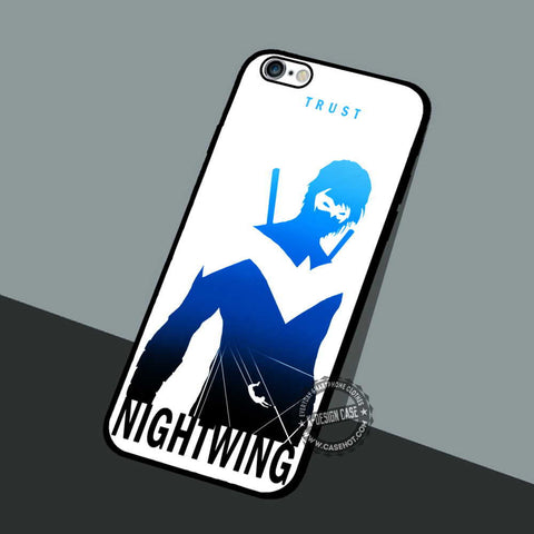 Trust Nightwing Character - iPhone 7 6 5 SE Cases & Covers
