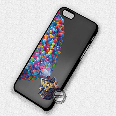 House and Balloons - iPhone 7+ 7 6 6+ 5c 5s SE Cases & Covers