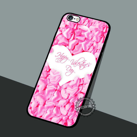 Valentine Day Pink - iPhone 7 6 5 SE Cases & Covers