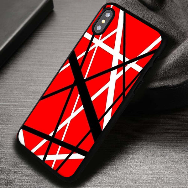 Van Halen Guitar Pattern - iPhone X 8+ 7 6s SE Cases ...