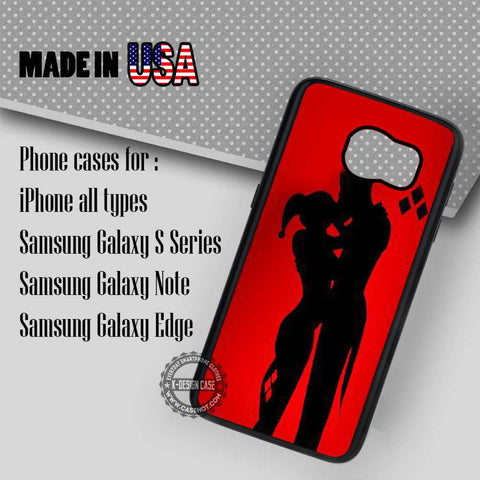 Love Story Harley and Joker - Samsung Galaxy S7 S6 S5 Note 5 Cases & Covers