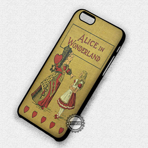 Vintage Book Alice Cover - iPhone 7 Plus 7 6S  SE Cases & Covers