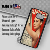 Audrey Hepburn Vanity Fair - Samsung Galaxy S7 S6 S5 Note 5 Cases & Covers