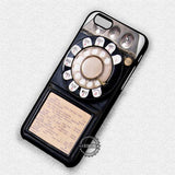 Vintage Old Pay Phone - iPhone 8+ 7 6s SE Cases & Covers