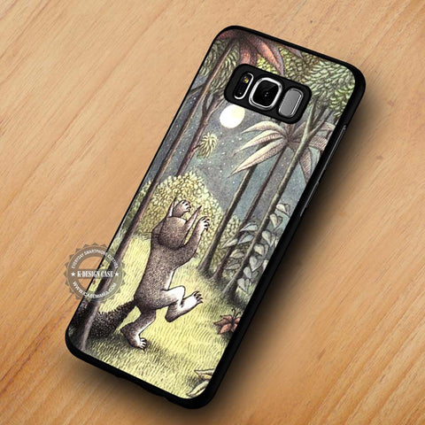 Where The Wild Things Are - Samsung Galaxy S8 Case