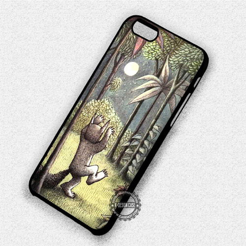 Where The Wild Things Are Wolf - iPhone 7 6 Plus 5c 5s SE Cases & Covers