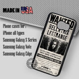 Bellatrix Lestrange Poster - Samsung Galaxy S7 S6 S5 Note 5 Cases & Covers