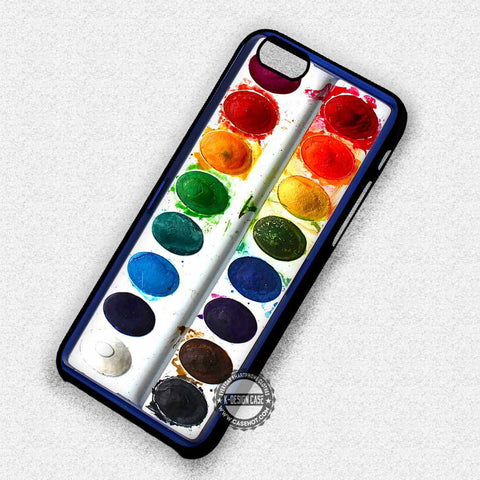 Watercolour Set Pallette - iPhone 7 6 Plus 5c 5s SE Cases & Covers
