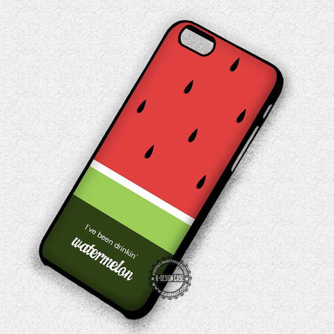 Watermelon Quotes - iPhone 7 6 Plus 5c 5s SE Cases & Covers